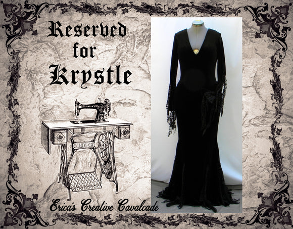 Reserved For Krystle