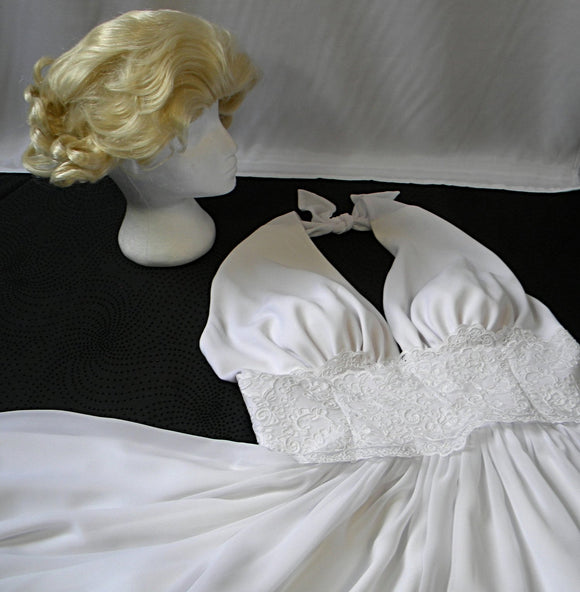 Marilyn Monroe dress and wig set