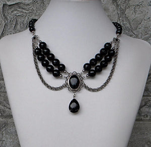 Black Onyx Elegance Necklace