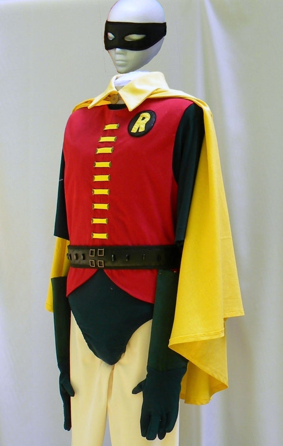 Robin The boy Wonder Costume Outfit