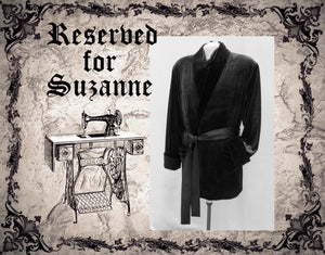 Reserved For Suzanne