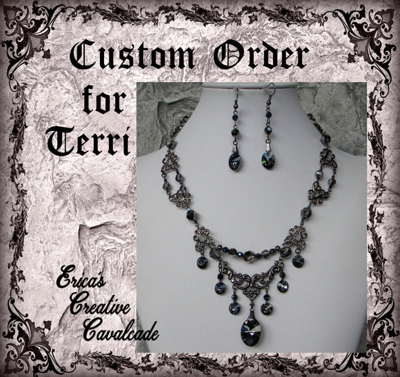 Custom Order For Terri