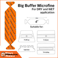 YelloWings BigBuffer MicroFine (5 pcs.) | 4 ""