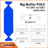 YelloWings BigBuffer Poly (5 pcs.) | 4 ""