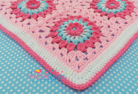 Double crochet stitch border