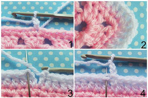 Double crochet border tutorial
