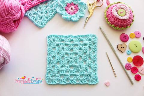 How To Make A Granny Square Tutorial