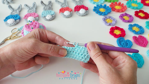 How to make a half treble crochet stitch - UK Htr stitch