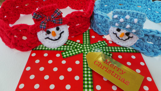 Christmas headband pattern