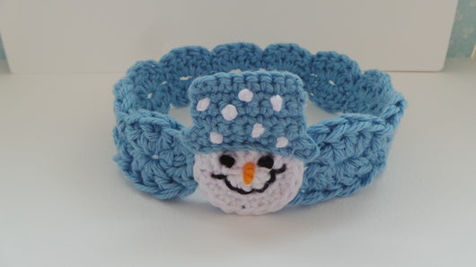 Snowman Headband Crochet Pattern Uk Kerry Jayne Designs