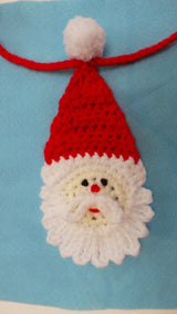 Crochet Santa decoration