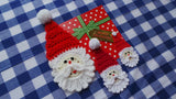 Applique Santa Pattern
