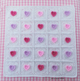 Heart blanket patterns