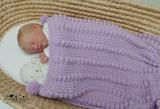 Puff stitch crochet blanket