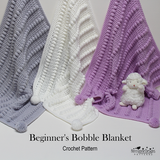 Beginners Bobble Blanket Pattern