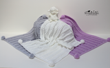 Bobble crochet blanket pattern