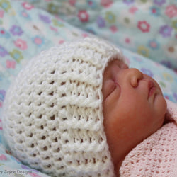Beginners baby hat crochet pattern
