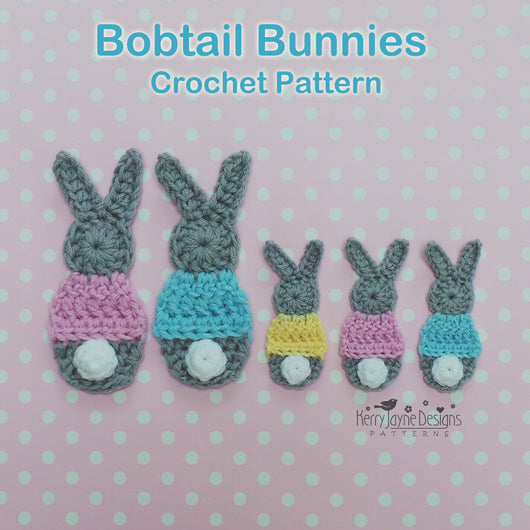 Bunny Applique Pattern USA