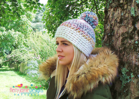 Central Park Beanie Uk Kerry Jayne Designs