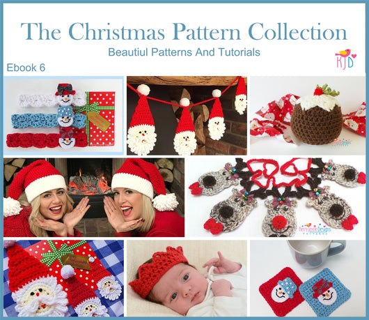 Christmas crochet pattern Ebook