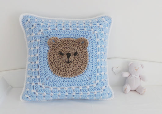 Bear Pillow crochet pattern