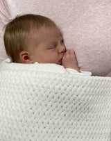Newborn blanket crochet pattern