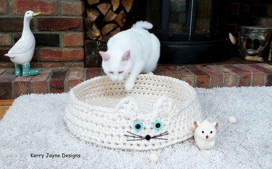 Crochet Cat Cave Lots Of Ideas That You Will Love | The WHOot | 329x530