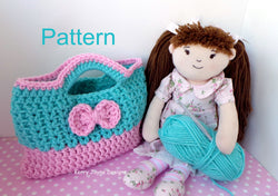 Cutie Bow Bag Crochet Pattern