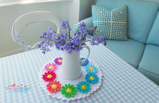 Table Doily Crochet Pattern