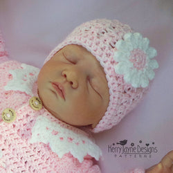 Daisy Hat Crochet Pattern
