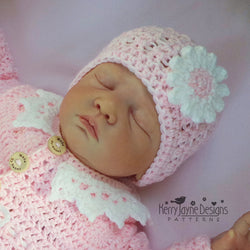 Daisy Hat Crochet Pattern USA