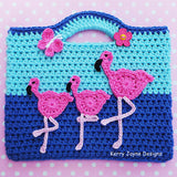 Dancing Flamingo Bag Pattern UK