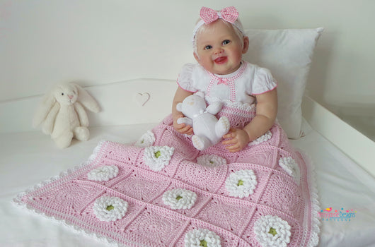 Crochet blanket Pattern By Kerry Jayne Designs