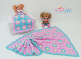 Dolls Blanket crochet pattern