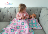Dolly Daisy blanket crochet pattern
