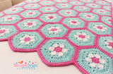 Doris Daisy Hexagon Blanket Pattern UK