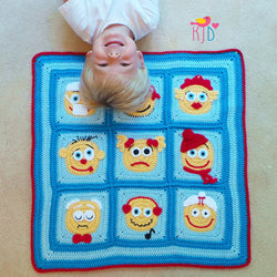 Emoji Blanket USA