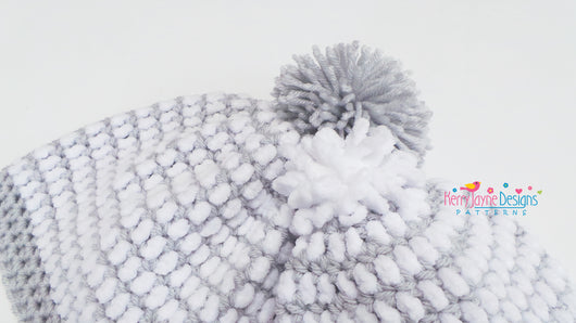 Eskimo Kisses Crochet Hat Pattern UK