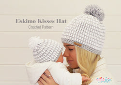 Eskimo Kisses crochet Hat Pattern