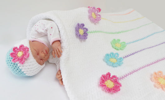 Little Ebook Of Baby Blankets And Hats Uk Kerry Jayne Designs