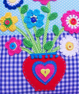 Cushion Crochet Flowers pattern