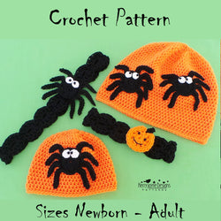 Halloween hat crochet pattern
