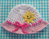 Summer hat crochet pattern