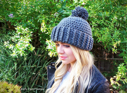 Hard Rock Hat Crochet Pattern Usa Kerry Jayne Designs