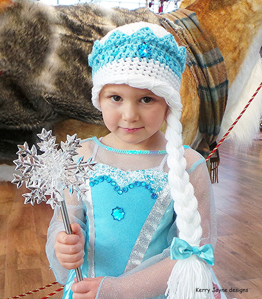 Ice Queen Hat Crochet Pattern