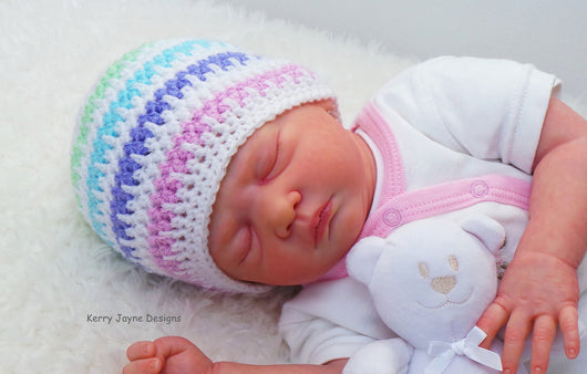 Ice Cream Baby Hat Crochet Pattern