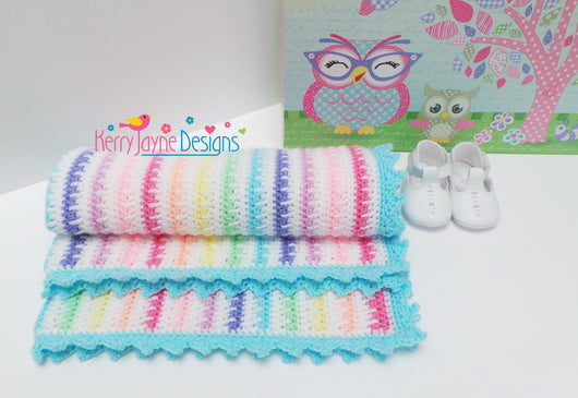 Little Ebook Of Baby Blanket Patterns USA Terms Kerry Jayne Designs Magnificent Baby Blanket Pattern