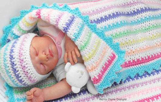 Ice Cream Baby Hat Crochet Pattern Kerry Jayne Designs