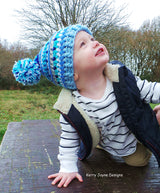 Inca hat and Neck warmer Crochet Pattern UK