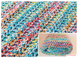 Jazzy Fun Crochet Blanket